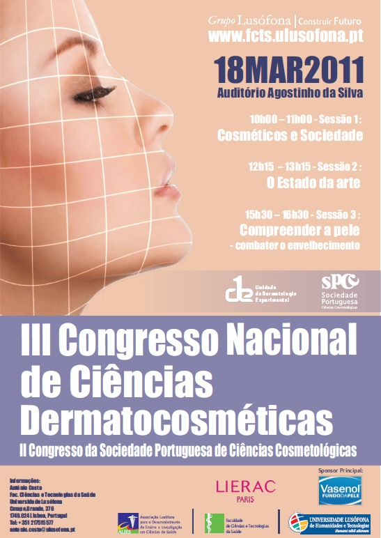 III National Congress of Dermato-Cosmetic Sciences/ II SPCC Congress